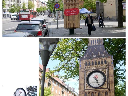 Norwegian Ambient Ad -  New Destinations, Big Ben