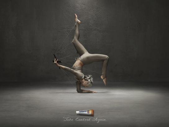 Voltaren Print Ad -  Yoga