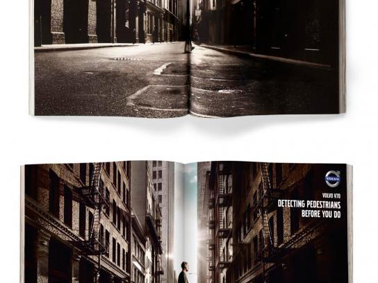 Volvo Print Ad -  Pedestrian