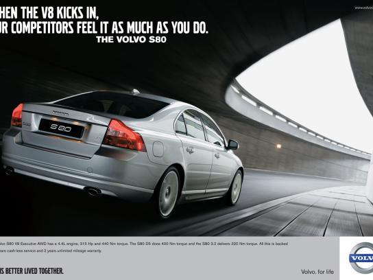 Volvo Print Ad -  Feel