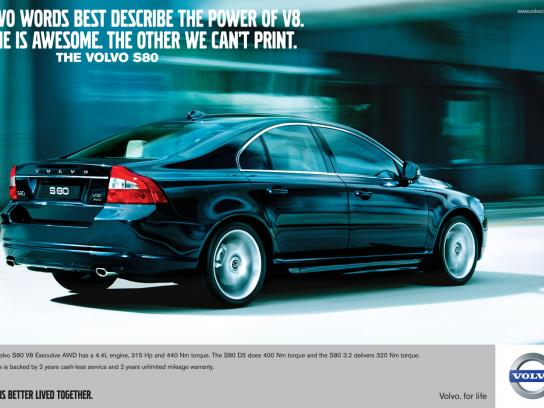 Volvo Print Ad -  Words