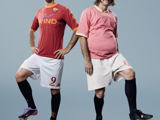 SKY Print Ad -  The most beautiful football, Vucinic