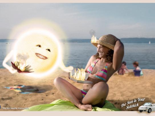 Volkswagen Print Ad -  Sun, 2