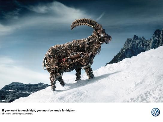 Volkswagen Print Ad -  Ibex
