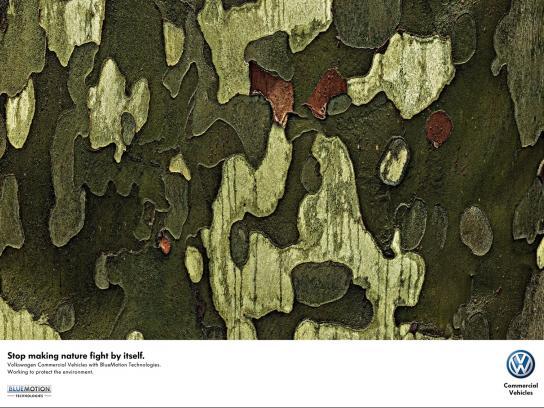 Volkswagen Print Ad -  Trees, 1