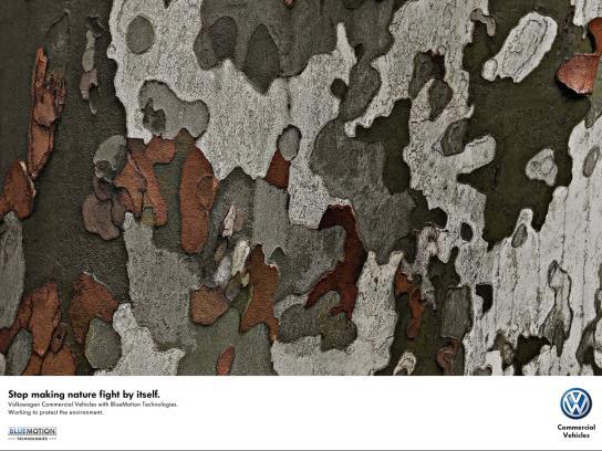 Volkswagen Print Ad -  Trees, 2