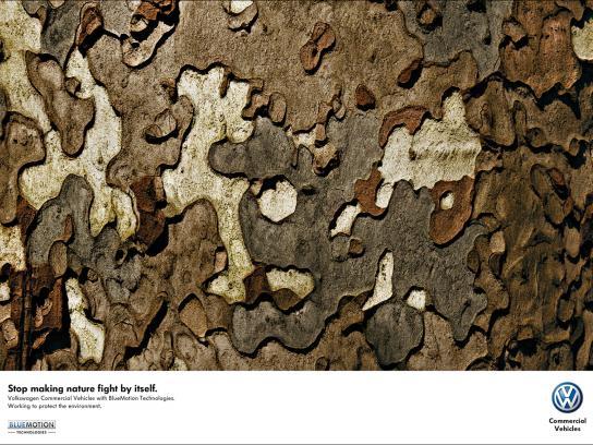 Volkswagen Print Ad -  Trees, 3