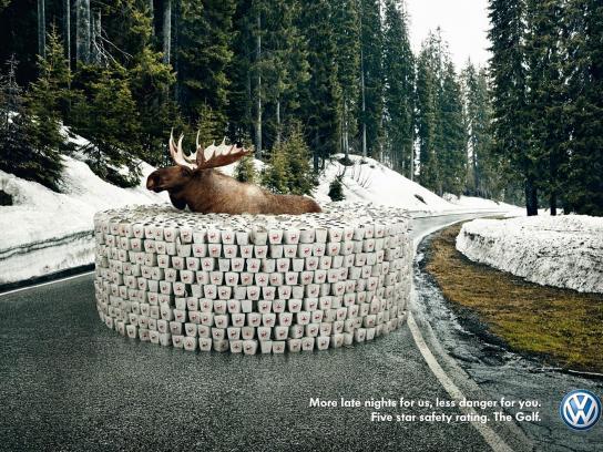 Volkswagen Print Ad -  Moose