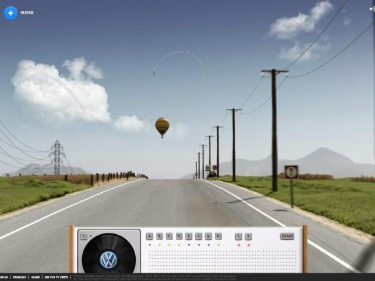 Volkswagen Digital Ad -  Sunday Drive