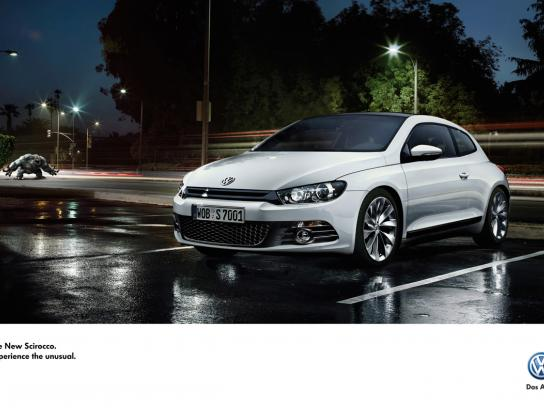 Volkswagen Print Ad -  Experience the unusual, 2