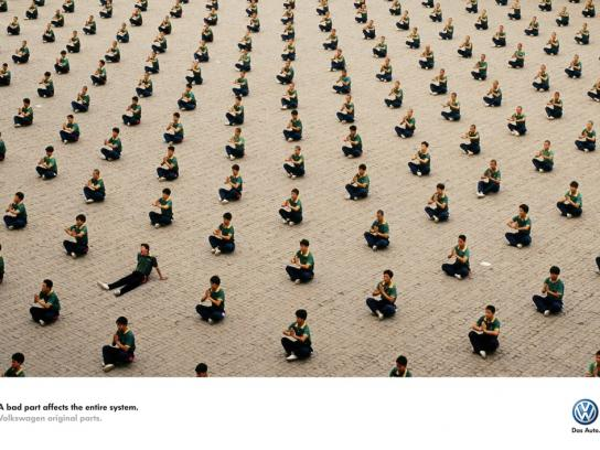 Volkswagen Print Ad -  Bad part, 2