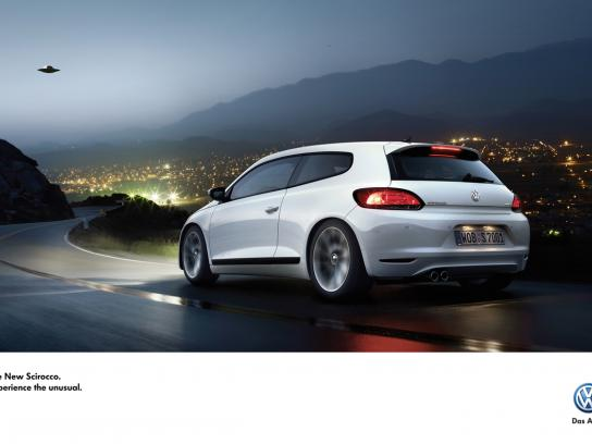 Volkswagen Print Ad -  Experience the unusual, 3