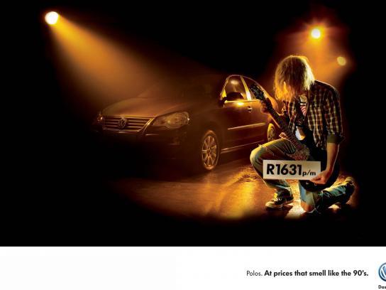 Volkswagen Print Ad -  Feels like the 90's, 1