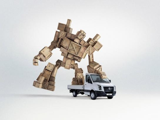 Volkswagen Print Ad -  Robot