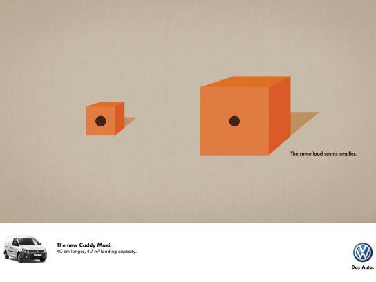 Volkswagen Print Ad -  Cube
