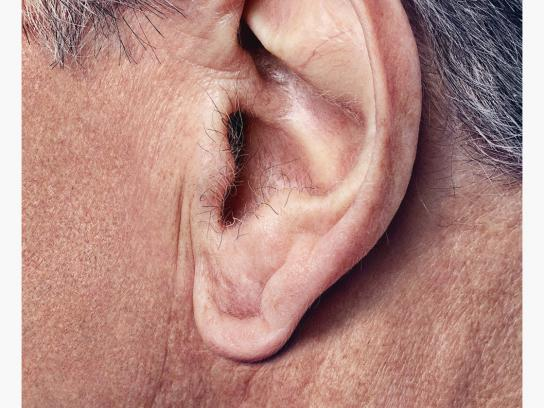 Volkswagen Print Ad -  The Ear