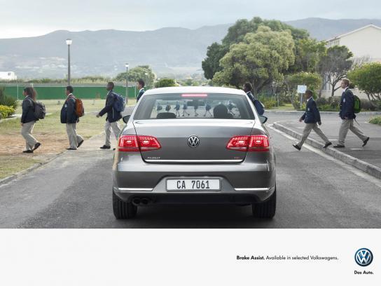 Volkswagen Print Ad -  Kids
