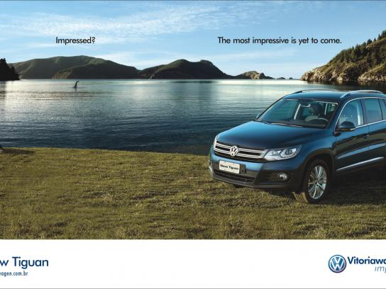 Volkswagen Print Ad -  Impressed, Monster