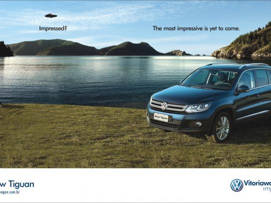 Volkswagen Print Ad -  Impressed, UFO