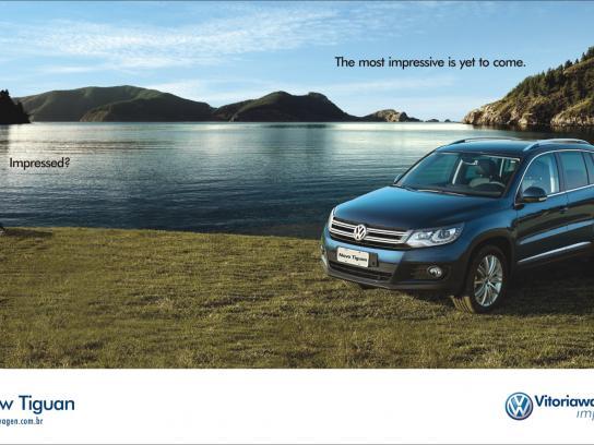 Volkswagen Print Ad -  Impressed, Yeti