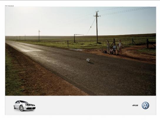 Volkswagen Print Ad -  Ball