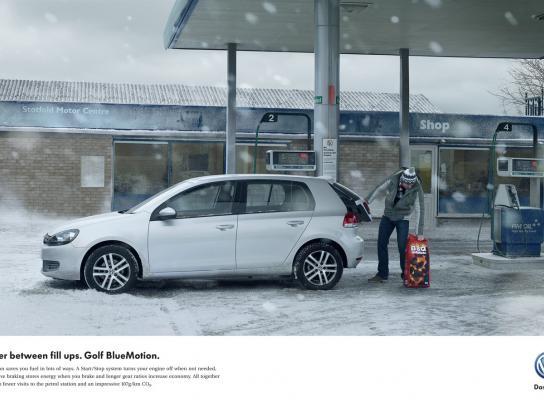Volkswagen Print Ad -  BBQ