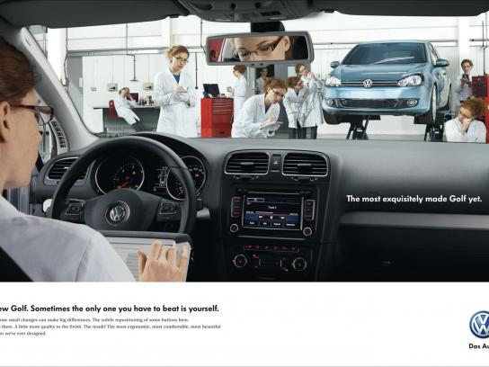 Volkswagen Print Ad -  Dashboard