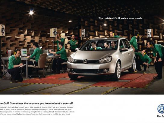 Volkswagen Print Ad -  Sound