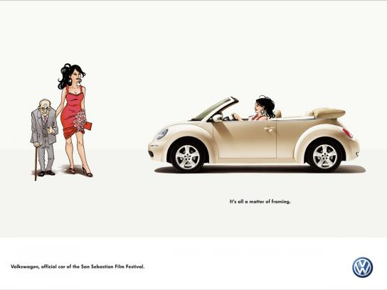 Volkswagen Print Ad -  Framing, 1