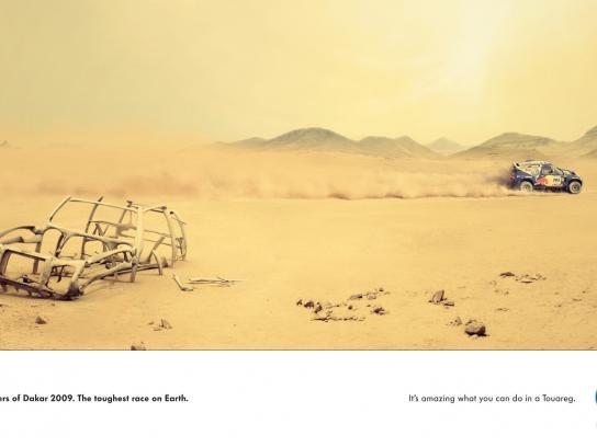 Volkswagen Print Ad -  Skeleton