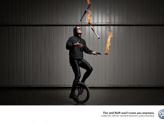 Volkswagen Print Ad -  Thief