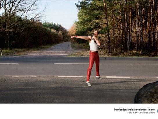 Volkswagen Print Ad -  Freddy