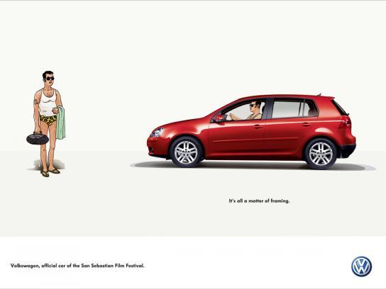 Volkswagen Print Ad -  Framing, 2