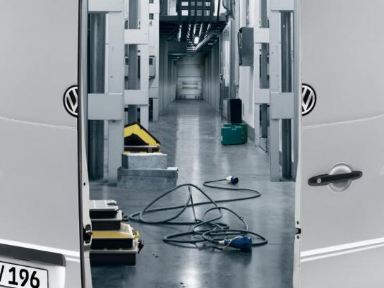 Volkswagen Print Ad -  Warehouse