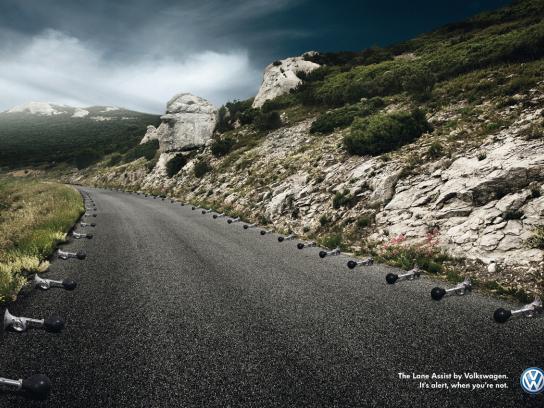 Volkswagen Print Ad -  Horns
