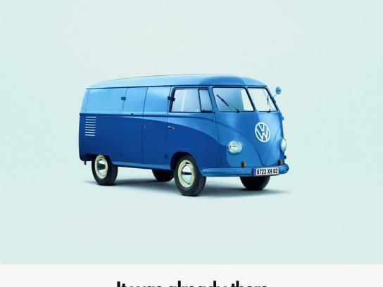 Volkswagen Print Ad -  Huts