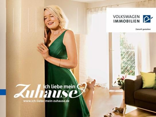 Volkswagen Print Ad -  Homelove, Pillar