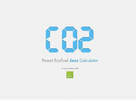 Volkswagen Digital Ad -  Jazz Calculator