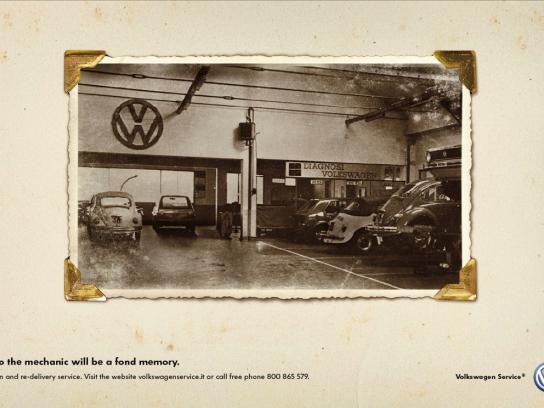 Volkswagen Print Ad -  Memory, 1
