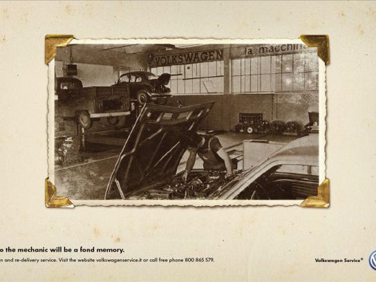 Volkswagen Print Ad -  Memory, 2