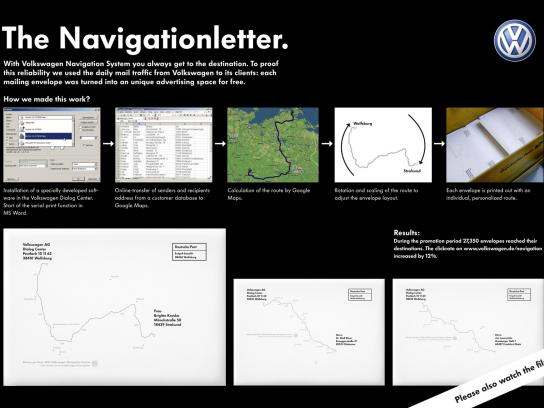 Volkswagen Direct Ad -  The Navigationletter