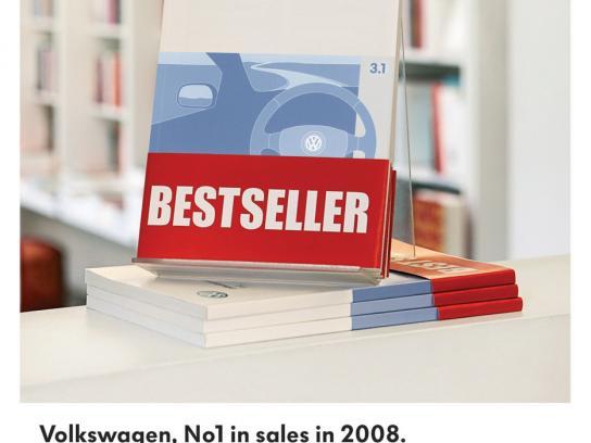 Volkswagen Print Ad -  Best seller