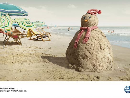 Volkswagen Print Ad -  Sandman