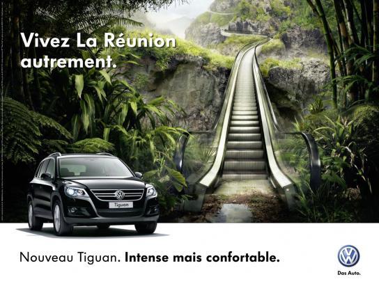Volkswagen Print Ad -  Comfortable