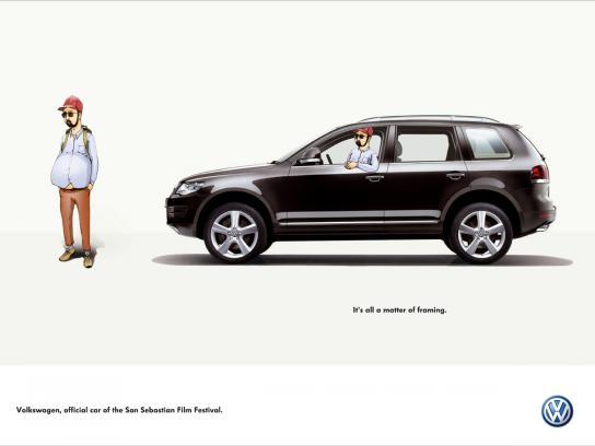 Volkswagen Print Ad -  Framing, 3