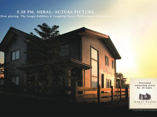 Warai Woods Print Ad -  House, 1
