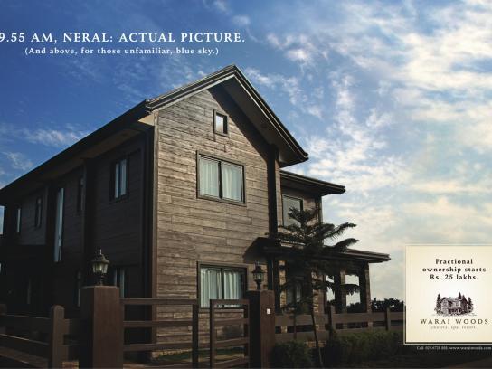 Warai Woods Print Ad -  House, 4