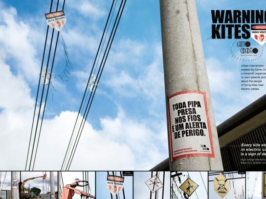 Canto Cidadão Ambient Ad -  Warning Kites