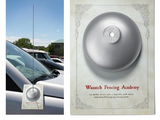 Wasatch Fencing Academy Ambient Ad -  Antenna