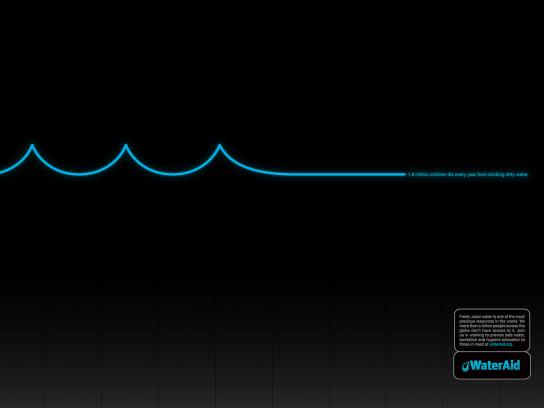 WaterAid Print Ad -  EKG